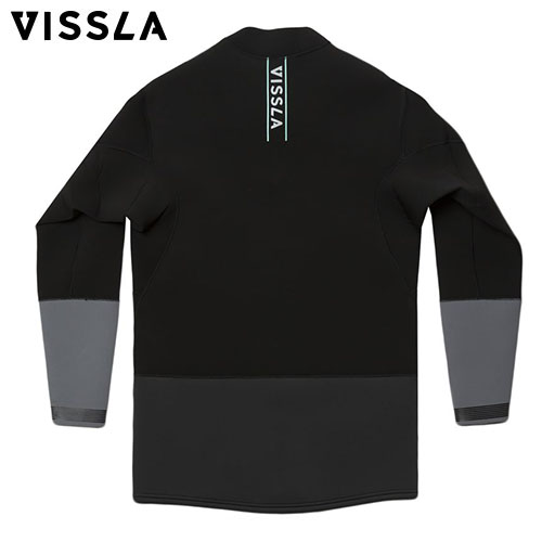 FRONT ZIP JACKET - BLK