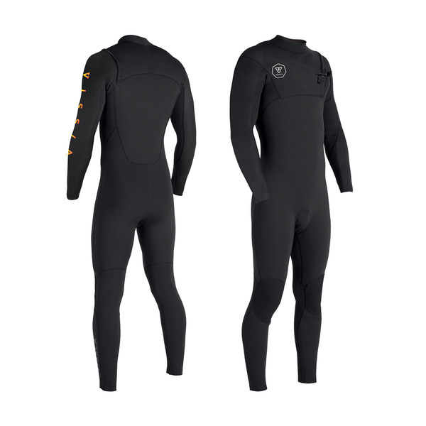SEVEN SEAS TRIPPER 3-2 FRONT ZIP BLACK